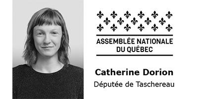 Assemblé nationale de Québec Catherine Dorion